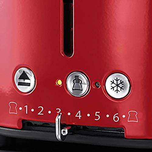 Russell Hobbs 21680-56 Retro Toaster - 4
