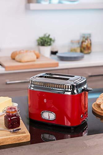 Russell Hobbs 21680-56 Retro Toaster - 8