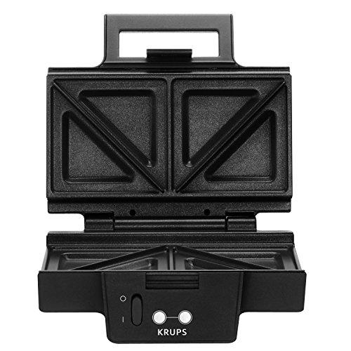 Krups FDK 451 Sandwich-Toaster (850 Watt, Toastplatten 25 x 12 cm) schwarz - 2