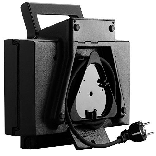 Krups FDK 451 Sandwich-Toaster (850 Watt, Toastplatten 25 x 12 cm) schwarz - 3