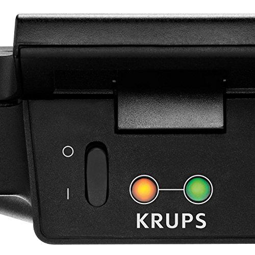 Krups FDK 451 Sandwich-Toaster (850 Watt, Toastplatten 25 x 12 cm) schwarz - 4