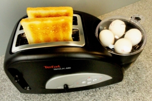 Toaster mit eier funktion