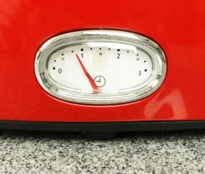 Toaster Countdown Anzeige