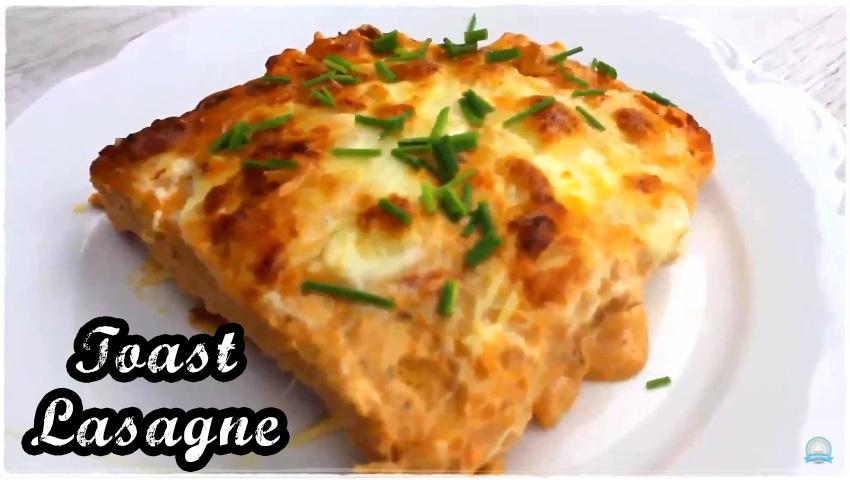 Toast Lasagne Rezept