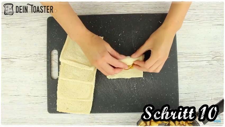 Toast Apfelstrudel Schritt 10