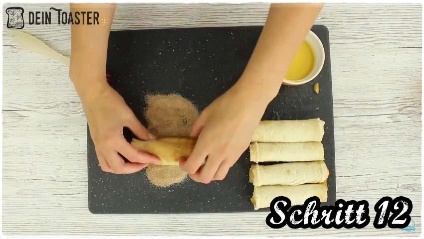 Toast Apfelstrudel Schritt 12