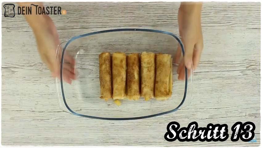 Toast Apfelstrudel Schritt 13