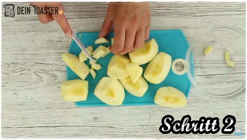 Toast Apfelstrudel Schritt 2