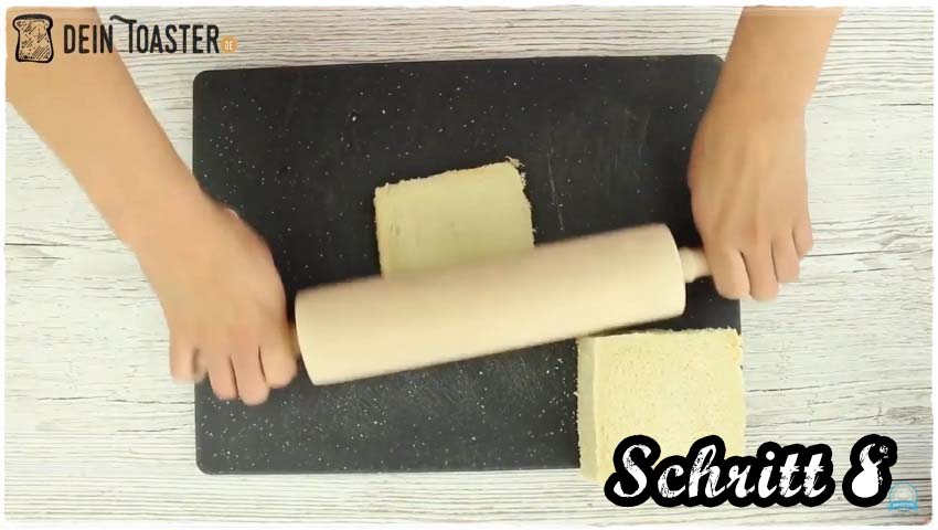 Toast Apfelstrudel Schritt 8