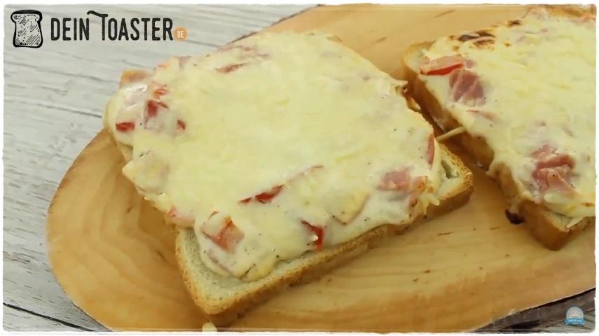 Toast Pizza fertig