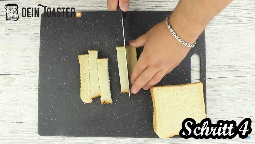 Toast Sticks Schritt 4