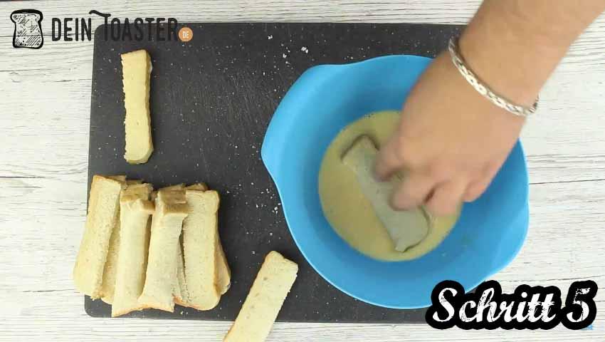 Toast Sticks Schritt 5