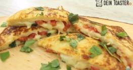 Tomate Mozzarella Toast