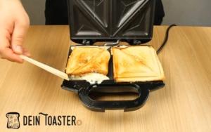 Leckere Tefal Sandwiches
