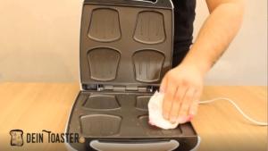 Sandwichmaker Reinigung
